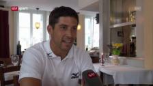 Video «Fussball: Gespräch mit Aaraus Davide Callà («sportaktuell»)» abspielen