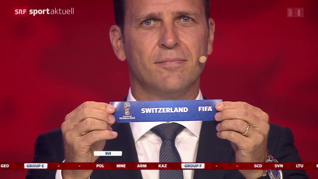 Fussball: Auslosung WM-Qualifikation 2018