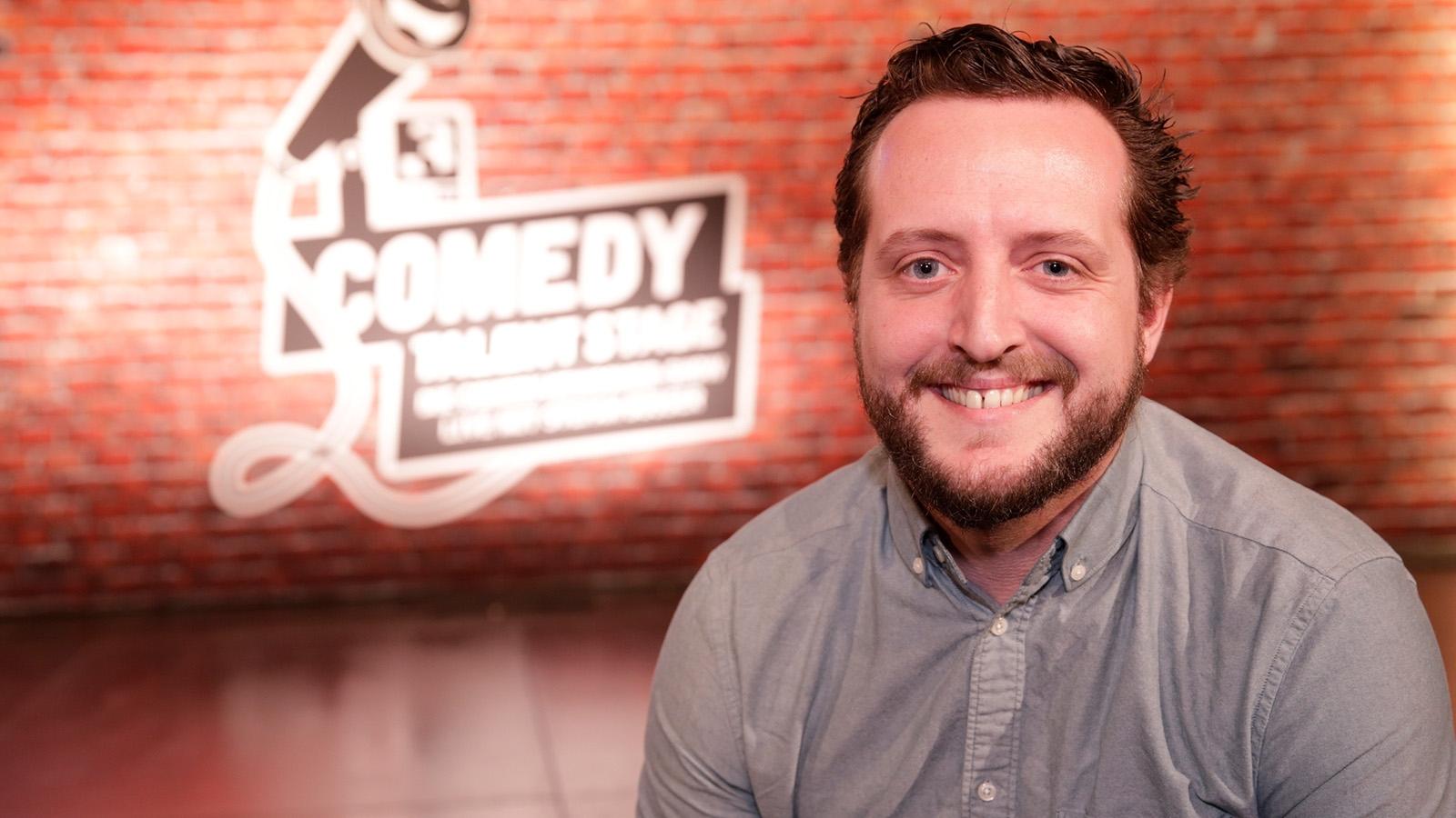 Retto Jost auf der SRF 3 «Comedy Talent Stage»
