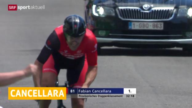 Video «Rad:Cancellara verzichtet auf WM-Zeitfahren» abspielen