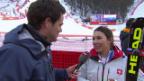 Video «Ski Alpin: Slalom Frauen, Interview mit Wendy Holdener (sotschi direkt, 21.2.2014)» abspielen
