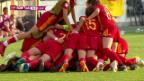 Video «Fussball: U19-EM der Frauen in der Schweiz, Final» abspielen