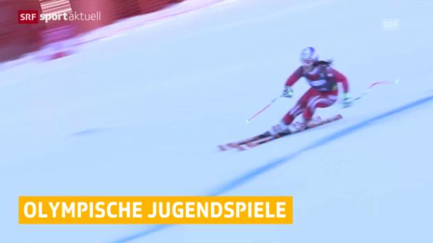 Video «Die Schweizer Jugend räumt in Lillehammer weiter ab» abspielen