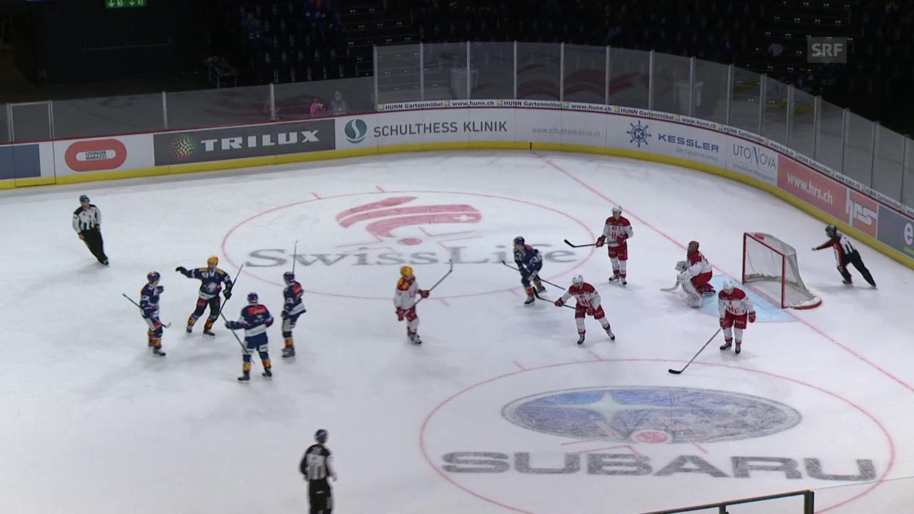 ZSC kantert Lausanne nieder