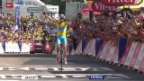 Video «Rad: 13. Etappe Tour de France» abspielen
