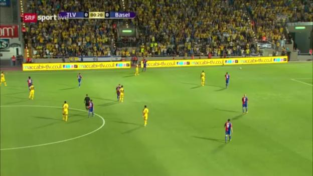 Video «Fussball: CL-Quali, 2013, Maccabi-Basel» abspielen
