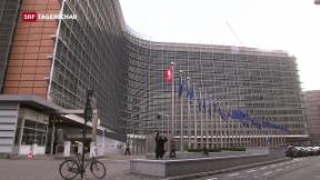 Video «EU unbeeindruckt von innenpolitischen Turbulenzen » abspielen