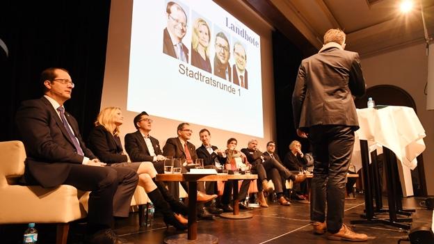 Vom erfolgreichen FC Winterthur und bärigen Stadtpräsidenten: die spontanen Reden der Kandidaten