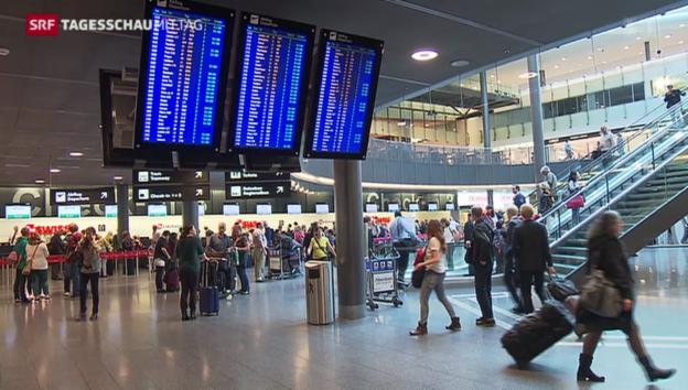 Video «Gebührensenkung am Flughafen Zürich» abspielen
