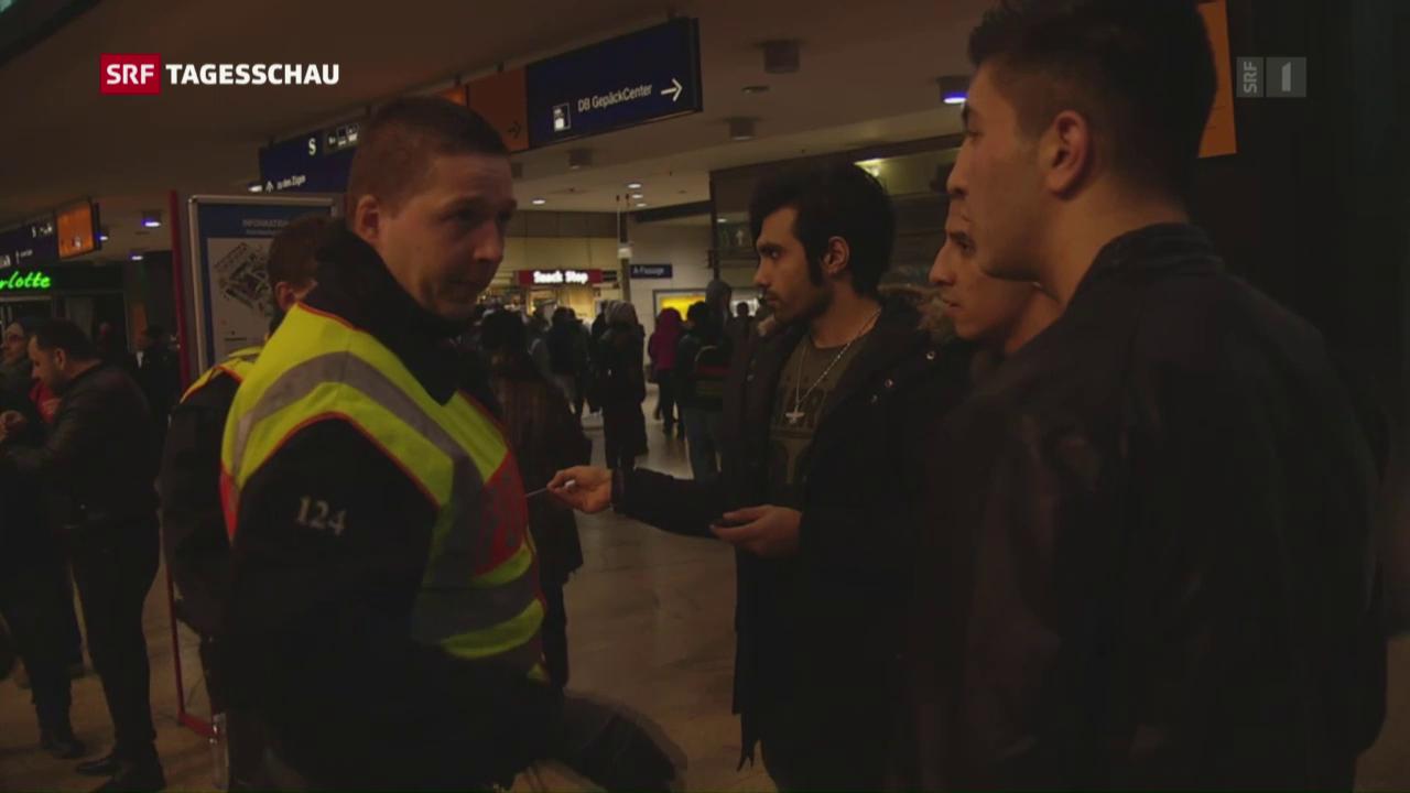 Polizeikontrollen in der Silvesternacht