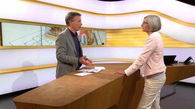 Video «Studiogespräch mit Annette Lenzlinger, Fachanwältin SAV Bau- und Immobilienrecht» abspielen