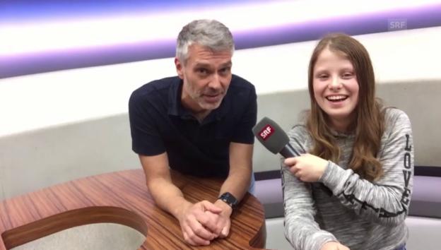 Video «Malin meets... Sandro Brotz» abspielen