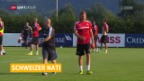 Video «Lang mit Muskelverletzung, Aegerter gibt Forfait» abspielen