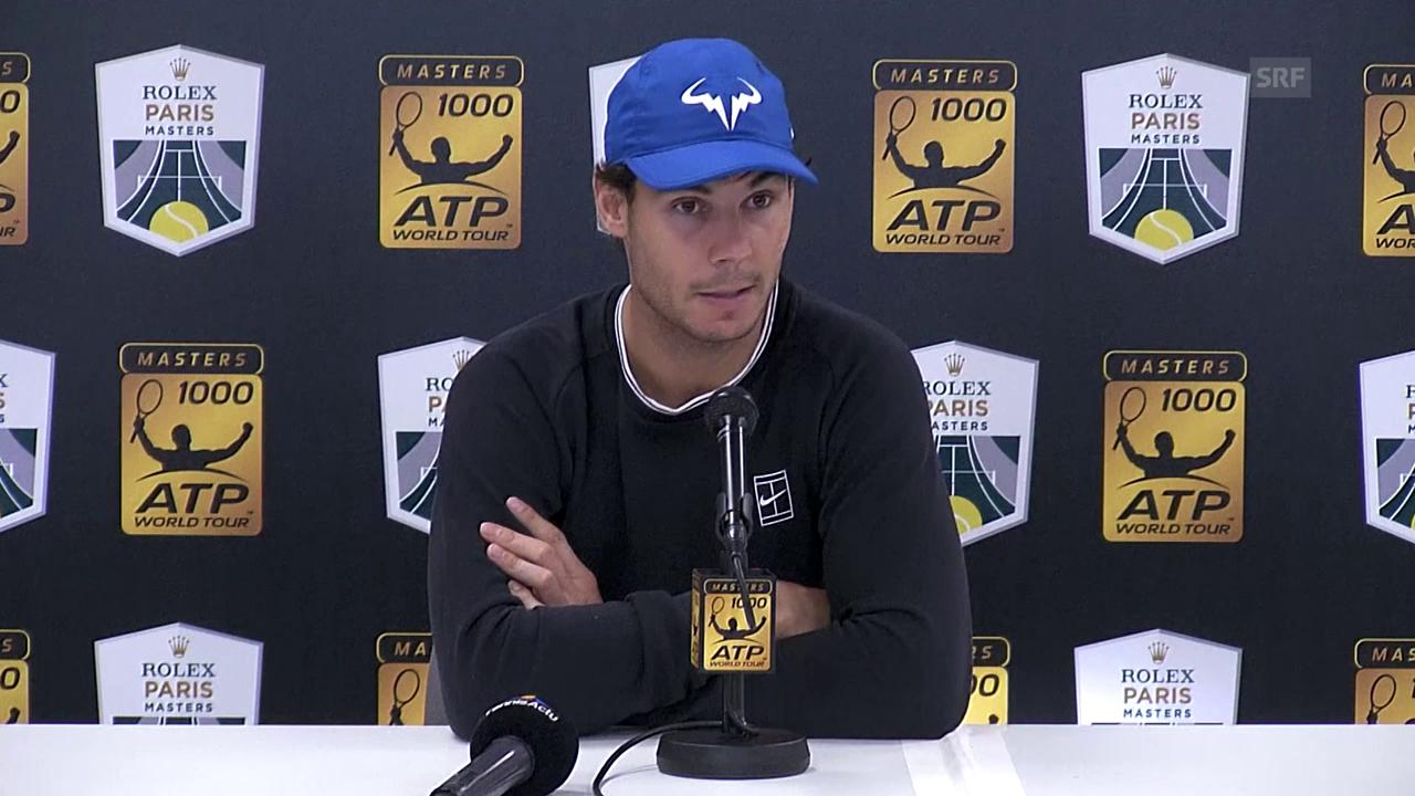 Nadal bangt nach dem Paris-Forfait um die ATP Finals