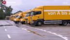 Video «Post baut ab bei den Lastwagen» abspielen