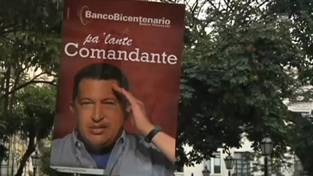 Freude über Hugo Chávez' Rückkehr (unkommentiert)