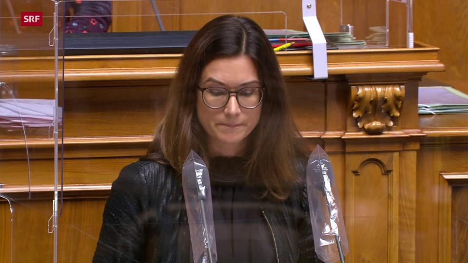 Maja Riniker zur «proposta da la cumissiun»