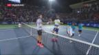 Video «Federer in Dubai völlig ungefährdet» abspielen