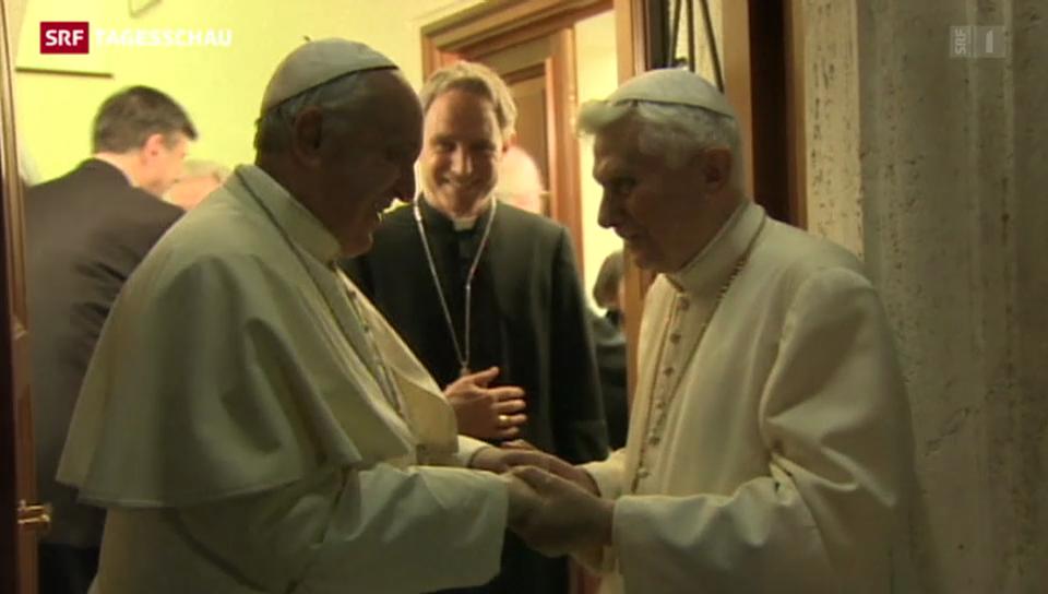 Benedikt trifft Franziskus