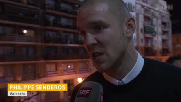 Video «Fussball: Feierlaune bei Valencia» abspielen