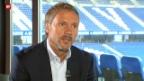 Video «Thorsten Fink nimmt Platz in der «sportlounge»» abspielen