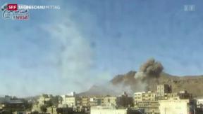 Video «Erneut Luftschläge in Jemen» abspielen