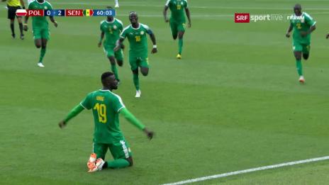 Link öffnet eine Lightbox. Video Senegal überrascht Polen abspielen