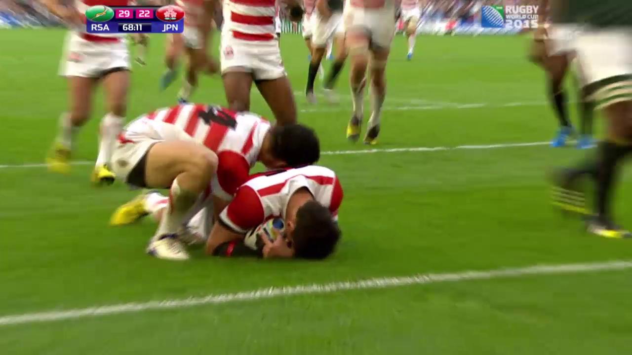 Rugby, WM: Südafrika-Japan