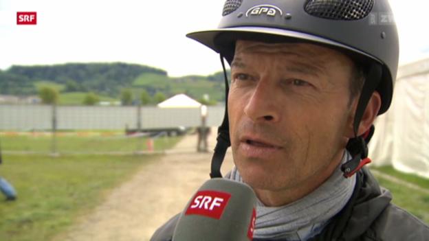Video «Reiten: Schwizer ohne 2 Spitzenpferde in St. Gallen» abspielen