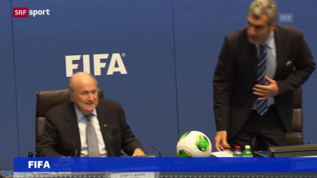 Video «Fussball: Arbeitsgruppe für WM 2022 einberufen» abspielen