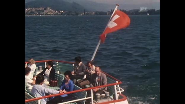 Video «Archivperle: Single-Schifffahrt» abspielen