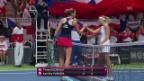 Video «Die Live-Highlights bei Bacsinszky - Pliskova» abspielen