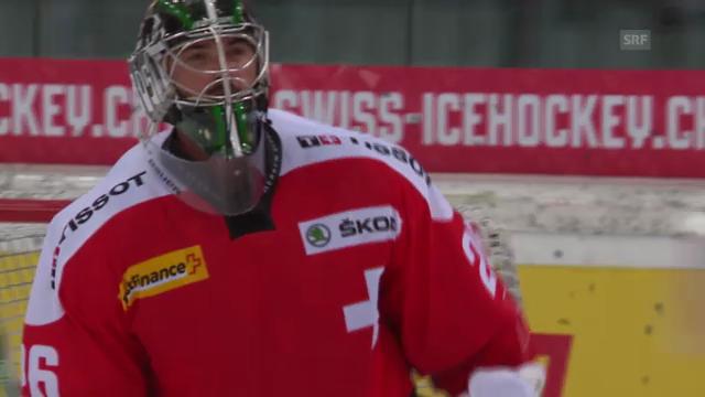 Eishockey: Testspiel Schweiz - Deutschland
