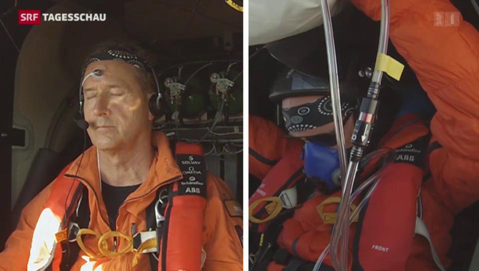 Wie kann man im Cockpit schlafen?