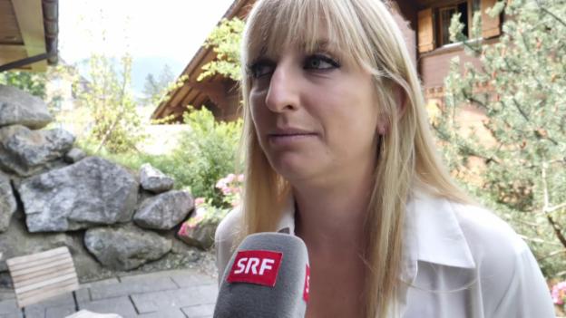 Video «Bacsinszky: «Mit 7 km/h war es etwas langweilig»» abspielen