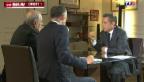 Video «Sarkozy nach Freilassung am TV» abspielen