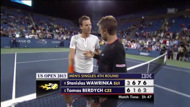 Tennis: Highlights Wawrinka - Berdych («sportlive»)