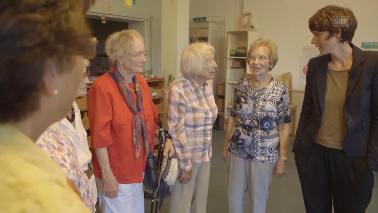 Treffen ehemaliger Missionskinder im damaligen Kinderhaus