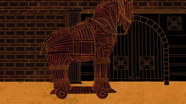 Video «Die Schlacht um Troja» abspielen
