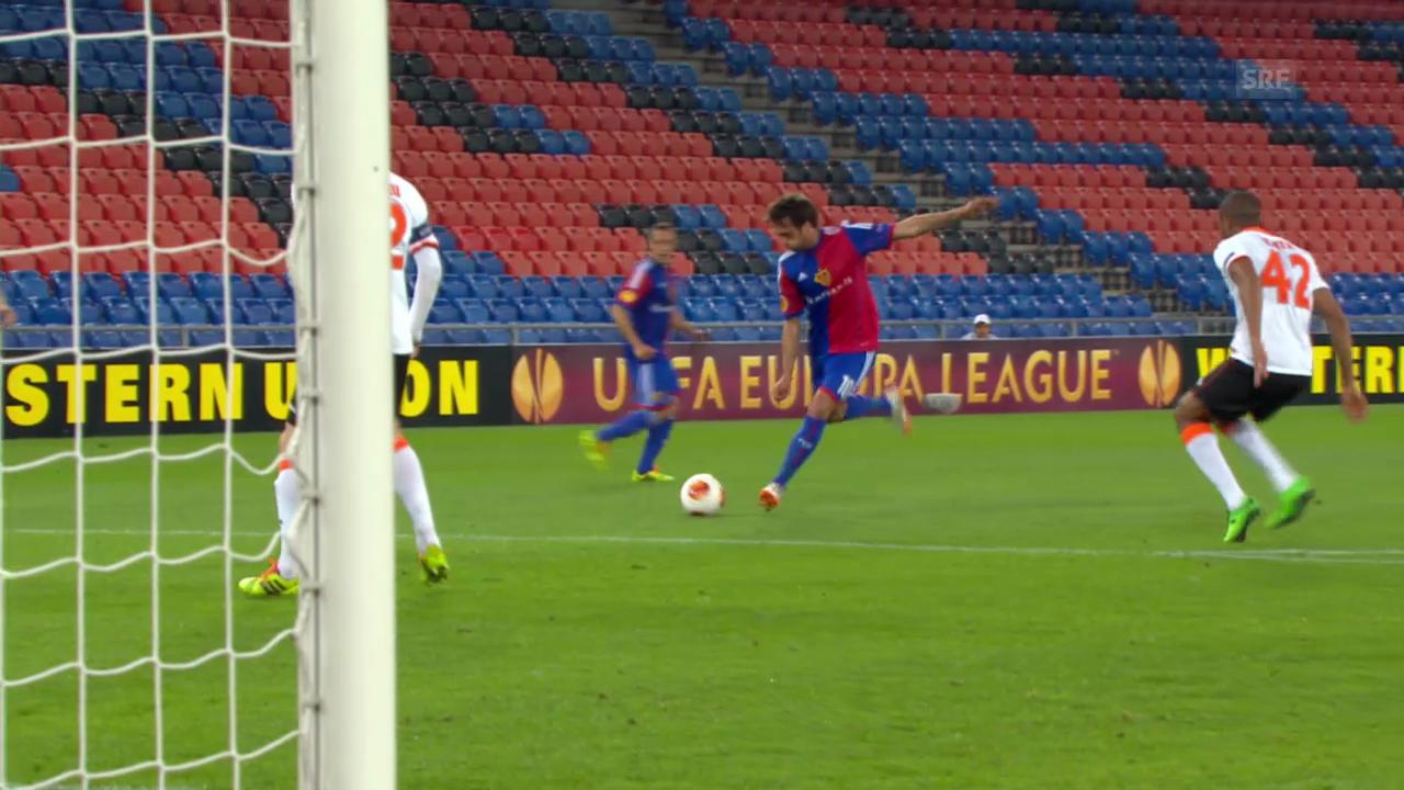 Fussball: Delgados Tore gegen Valencia