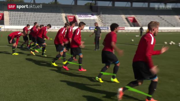 Video «Fussball: Super League, die Konstanz des FC Thun» abspielen