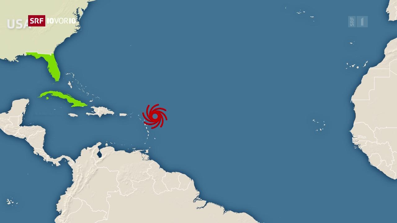 «Irma» – die Stationen einer Katastrophe