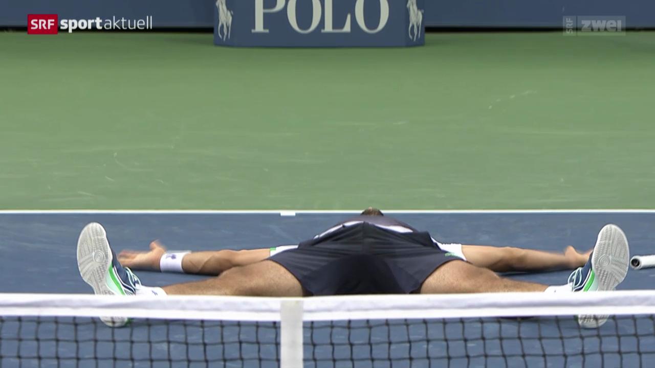 Tennis: Cilic gewinnt die US Open