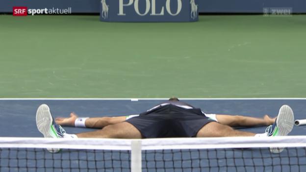 Video «Tennis: Cilic gewinnt die US Open» abspielen