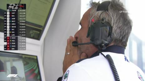 Link öffnet eine Lightbox. Video Leclerc überrascht im Qualifying von Le Castellet abspielen