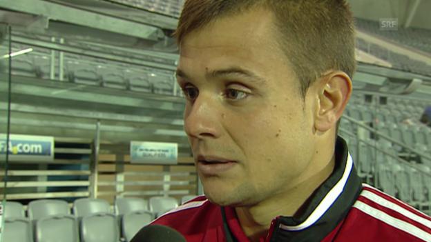 Video «Abrashi zum Spiel gegen die Schweiz» abspielen