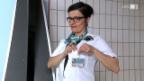 Video «Versteckte Kamera: Anet Corti im Solebad» abspielen