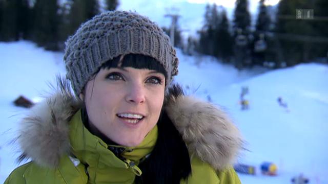 Vier Schneehasen und ihre Skiabenteuer