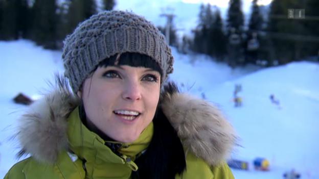 Video «Vier Schneehasen und ihre Skiabenteuer» abspielen