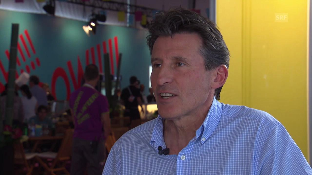 Leichtathletik: Legende Sebastian Coe im Interview